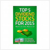 Top 5 dividend stocks for 2015